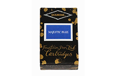 Картриджи Diamine Majestic Blue (18 шт.)
