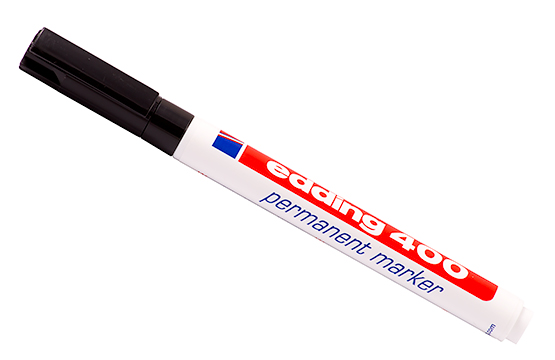 Перманентный маркер stabilo