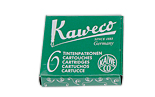 Картридж Kaweco International 6шт. (зеленый)