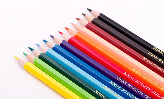 картинки цветных карандашей