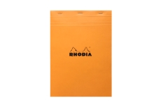 Rhodia №18 Pad Orange (21х29.7 см, в клетку)