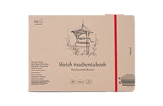SM-LT Authentic Sketch Natural скетчбук (100г/м2)