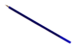 Стержень к Stabilo LeftRight (синий)