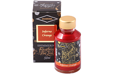 Чернила Diamine Shimmer Inferno Orange 50 мл