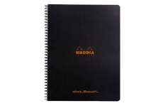 Rhodia DotBook Black (22.5х29.7 см, в точку)