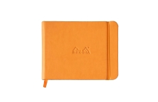 Rhodia Webnotebook Landscape Orange 14х11, в точку