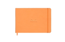 Rhodia Webnotebook Landscape Orange А5 нелинованный