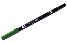 Tombow ABT Dual brush 177 Dark Jade